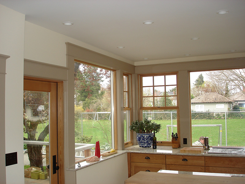 Window casing by Arbor Renovations