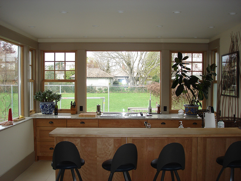 Picture of kitchen cabinet and countertop renovation