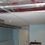 T-bar ceiling installation