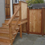 Porch, Stairs and Fence project