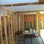 Basement suite framing