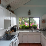 Painted kitchen & cabinets