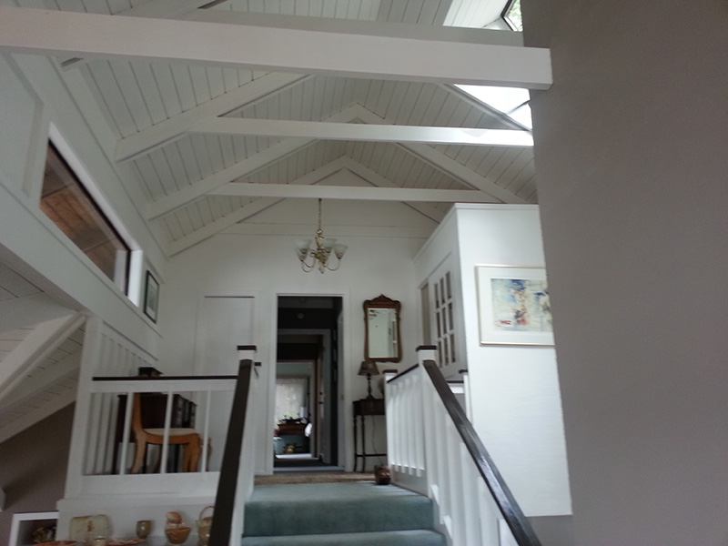 r Vaulted ceiling renovation project
