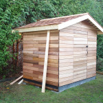 Picture of wooden shed built by Arbor Renovations