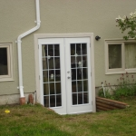 Glass french door project.