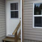 Window, door and exterior siding.