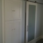 Sliding Door and Cabinetry Installation
